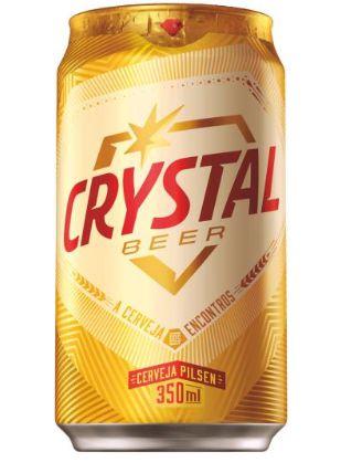 CERVEJA CRYSTAL 350ML