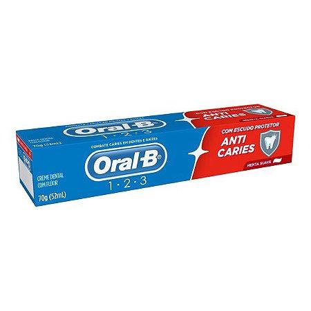 Creme Dental 70G Oral-B 1.2.3