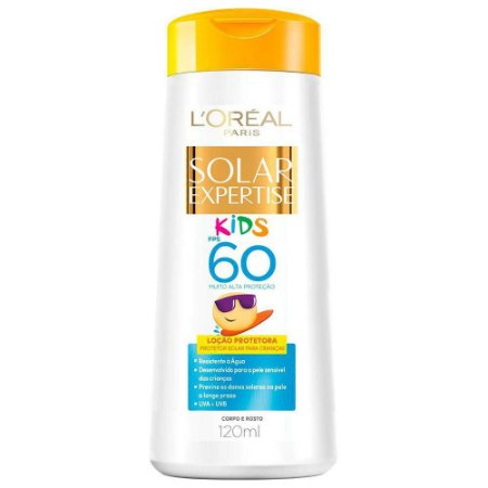 Protetor Solar Loreal 60Fps 120Ml Kids