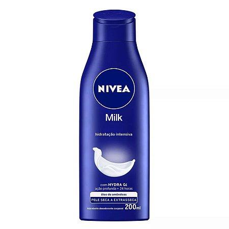 Hidratante Nivea 200Ml Milk Pele Extra-Seca
