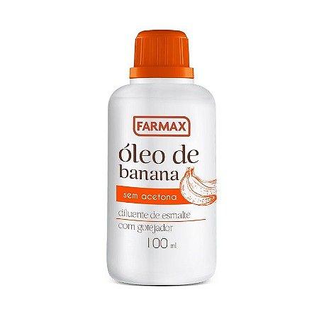 Oleo de Banana Farmax 100Ml