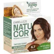 Tinta Natucor 6.7 Chocolate