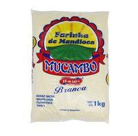 FARINHA DE MANDIOCA MUCAMBO BRANCA 1KG