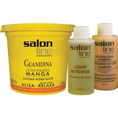 GUANIDINA SALON LINE 218G MANGA REGULAR