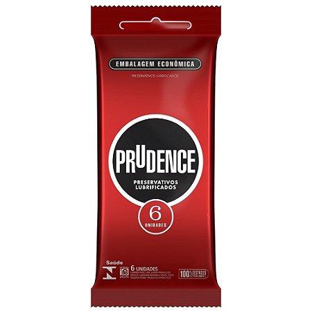 Preservativo Prudence com 6 Unidades Tradicional