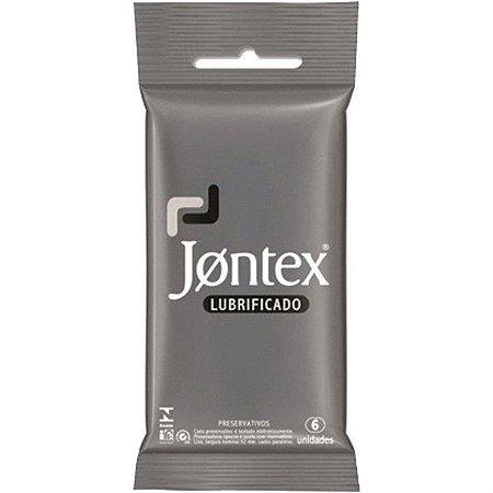 Preservativo Jontex com 6 Unidades Lubrificado