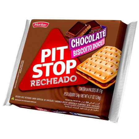 BISC MARILAN PIT STOP 124G CHOCOLATE