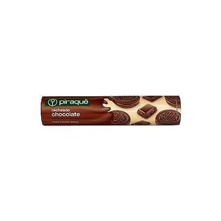 BISCOITO PIRAQUE 160G RECHEADO CHOCOLATE