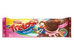 BISCOITO VITARELLA 60G RECHEADO TRELOSO CHOCOLATE C/MORANGO