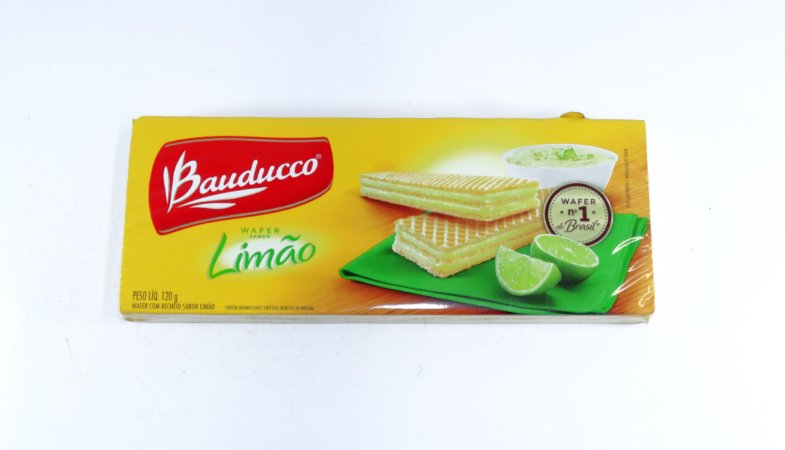 BISCOITO BAUDUCCO 78G WAFER LIMAO