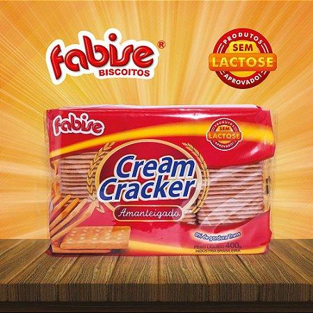 BISCOITO FABISE 400G CREAM CRACKER SEM LACTOSE