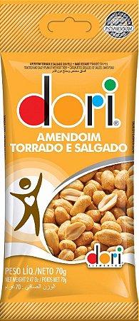 Amendoim Dori 70G Salgado