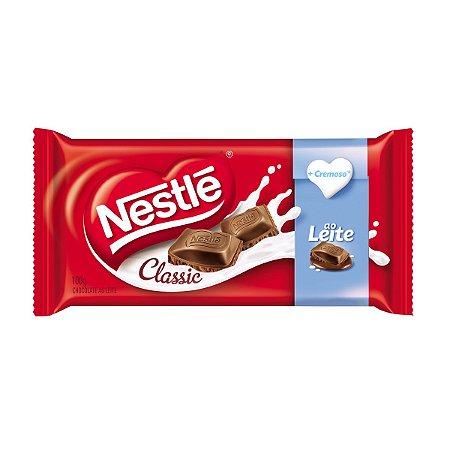 CHOCOLATE NESTLE CLASSIC 90G AO LEITE