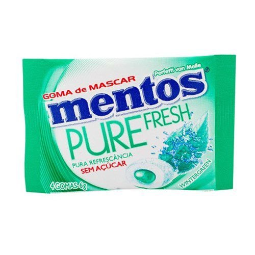 Chiclete Mentos 6G Wintergreen