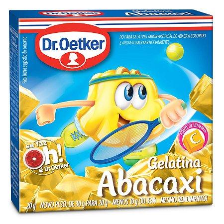 GELATINA DR.OETKER 20G ABACAXI