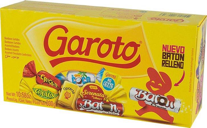 BOMBOM GAROTO SORTIDOS 250G