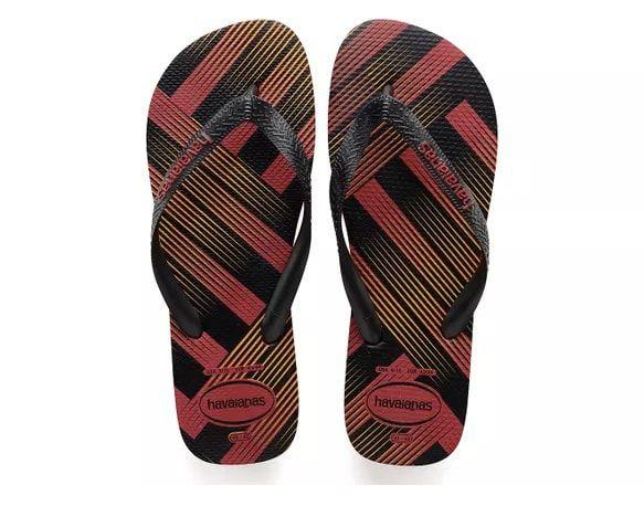 Sandalia Havaianas Trend 43 e 44 Vermelho Apache