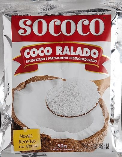 COCO RALADO 50G SOCOCO