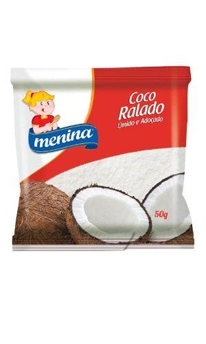 COCO RALADO 50G MENINA