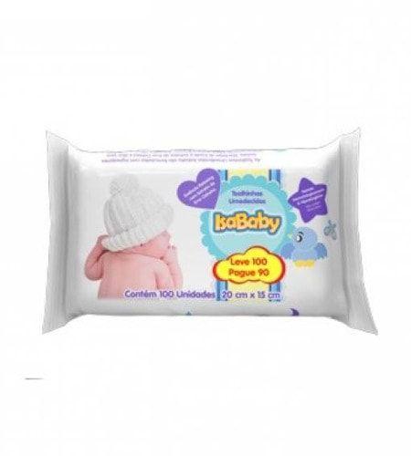 Lencos Umidecido Isa Baby Leve  100 Pague  90Unidades