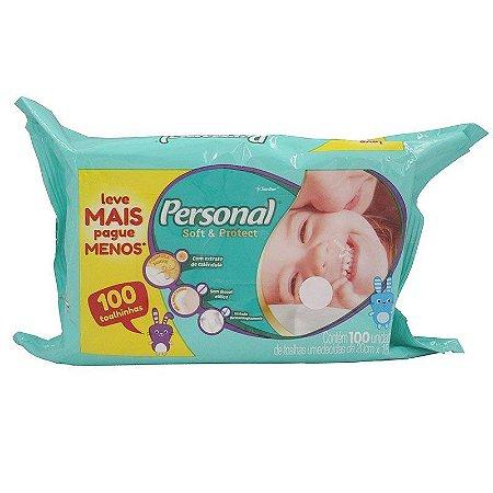 LENCOS UMEDECIDOS PERSONAL BABY C/100UNDS