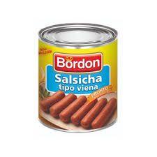 SALSICHAS BORDON 180G TIPO VIENA