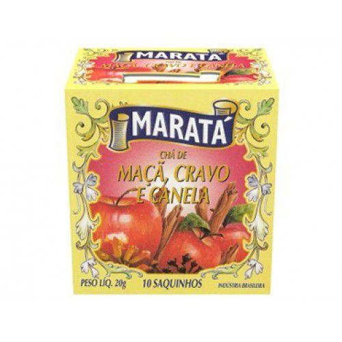 CHA MARATA 20G MACA CRAVO E CANELA