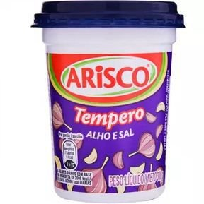 Tempero Arisco 300G Alho E Sal