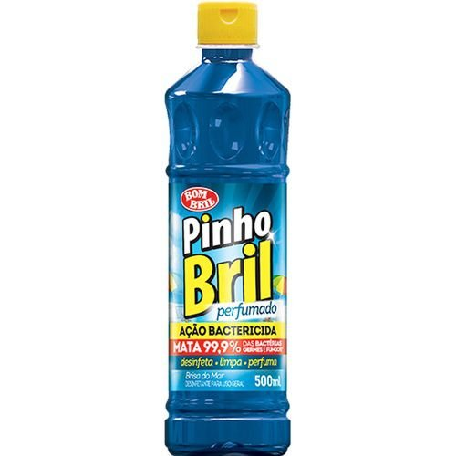 Desinfetante Pinho Bril 500Ml Brisa Do Mar