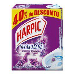 Pedra Sanitária Harpic 25G+40%Gts Lavanda