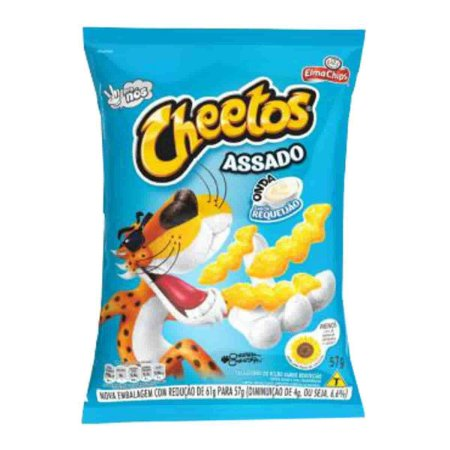 SALGA ELMA CHIPS 50G CHEETOS REQUEIJAO