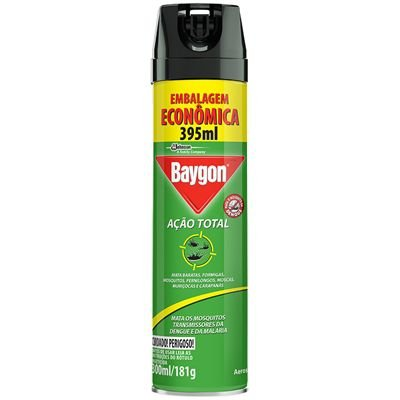Inseticida Baygon Acao Total 395Ml
