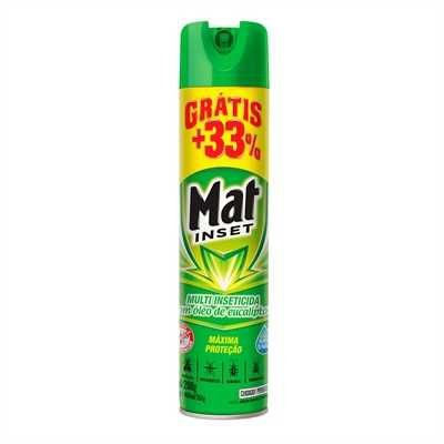 Inseticida Mat Inset 300Ml Multi Eucal Gratis 33%