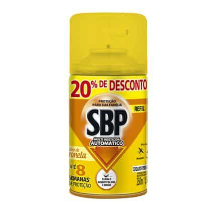 Inseticida Sbp 250Ml Oleo Cintronela 20% Desconto