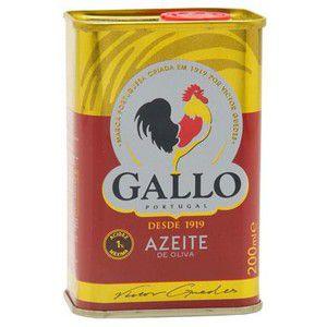 Azeite Oliva 200Ml Gallo Tradicional Lata