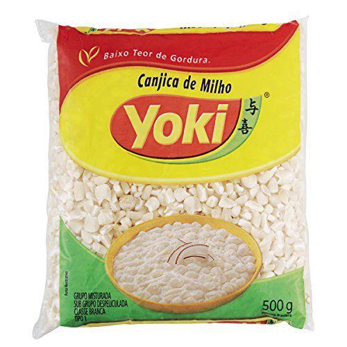 Milho Para Mugunza Yoki 500G Branco