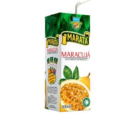 SUCO MARATA 200ML NECTAR MARACUJA