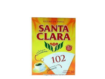 FILTRO PAPEL SANTA CLARA 102 C/30UNDS