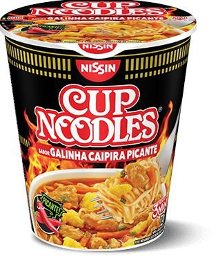 CUP NOODLES NISSIN 72G GALINHA CAIPIRA PICANTE