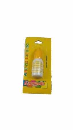 Anilina Liquida Amarela 10Ml Karamello