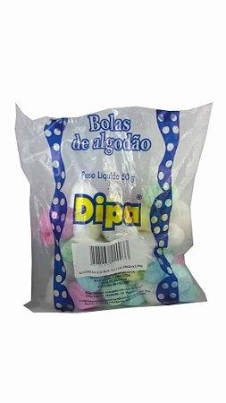 ALGODAO DIPA 50G BOLAS COLORIDAS SACHE
