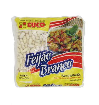FEIJAO BRANCO 500G CUCO