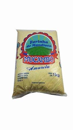 FARINHA DE MANDIOCA MUCAMBO AMARELA 1KG