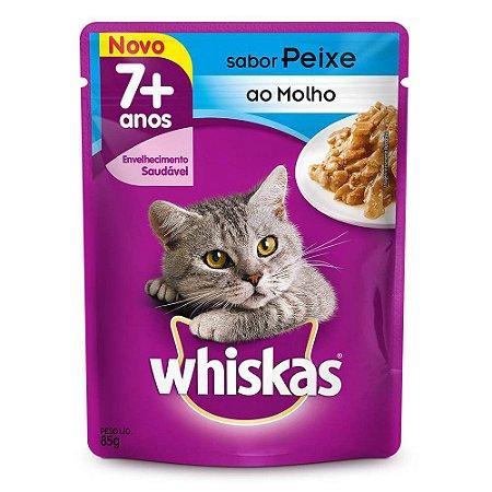 Whiskas 85G 7+ Peixe Ao Molho