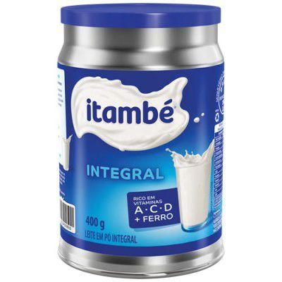 LEITE PO ITAMBE 400G INTEGRAL LATA