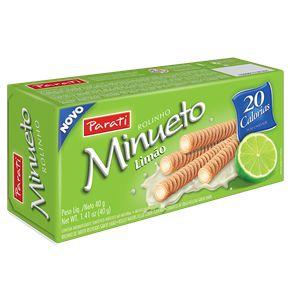 ROLINHO WAFER MINUETO 40G LIMAO