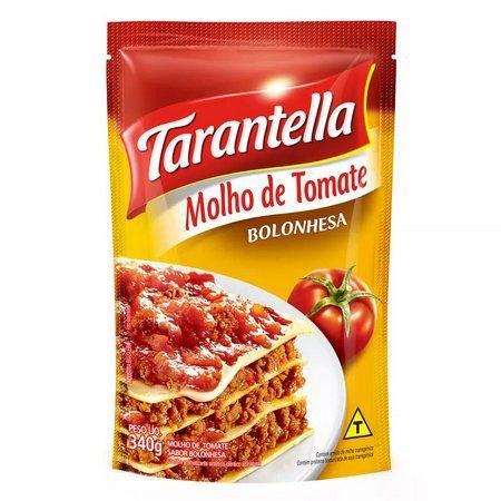 Molho Tomate 340G Tarantella Bolonhesa Sache