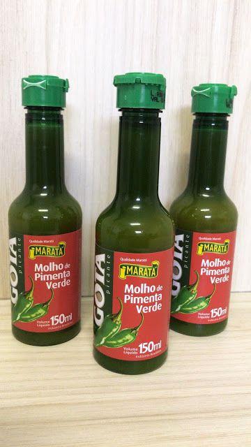 Molho Pimenta Verde 150Ml Gota Marata