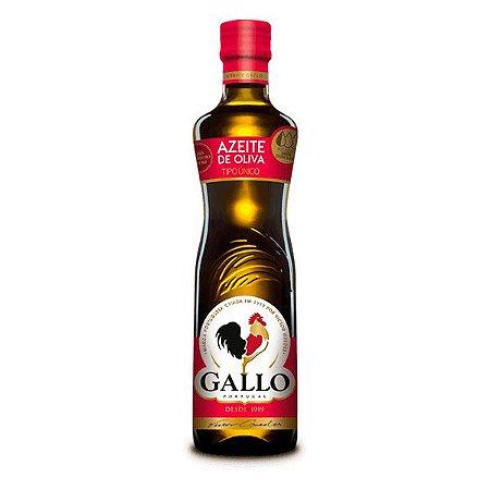 Azeite Oliva 500Ml Gallo Vidro Tradicional