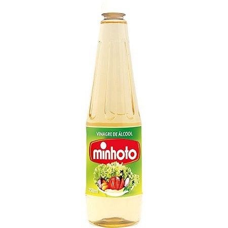 Vinagre Minhoto 750Ml Alcool Leve 750Ml Pague 500 Ml